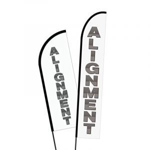 Alignment Print Flags