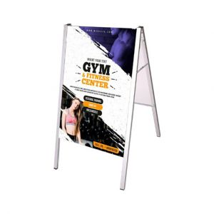 advertising signage, A-Frame sidewalk signs